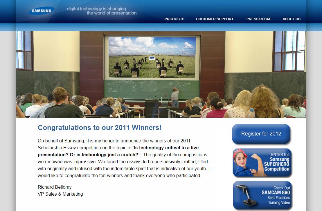 Samsung Scholarship