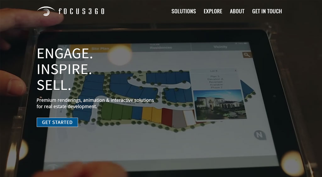 Young Company Web Design for focus360