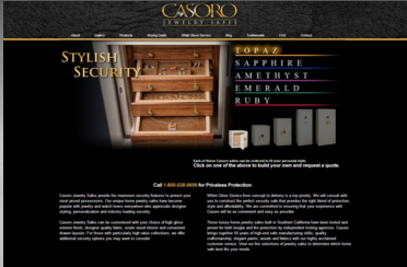Casoro  for Landing Page