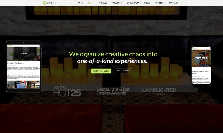 Davis Ink Website