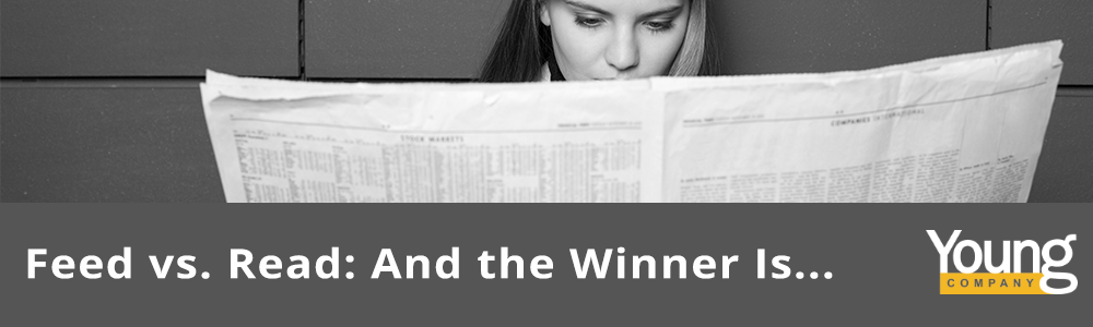 Feed vs. Read: And the Winner Is …