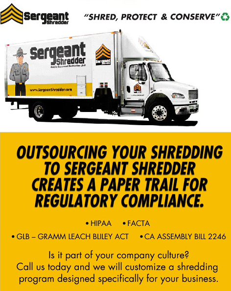Sergeant Shredder Ad