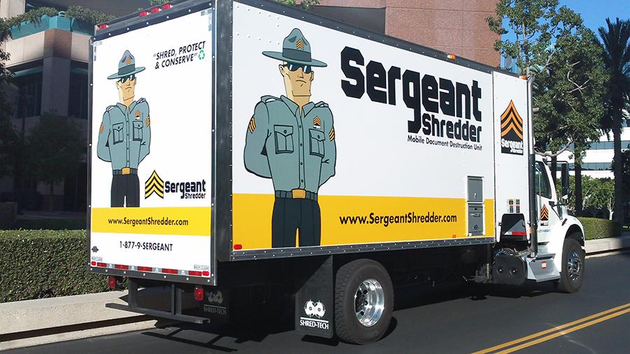 Sergeant Shredder Truck Designs