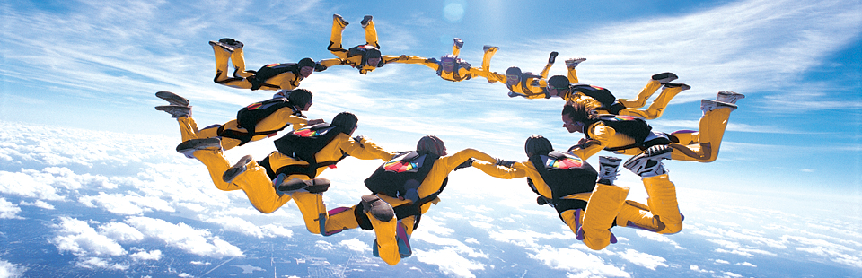 Social Media Marketing Orange County - Skydivers