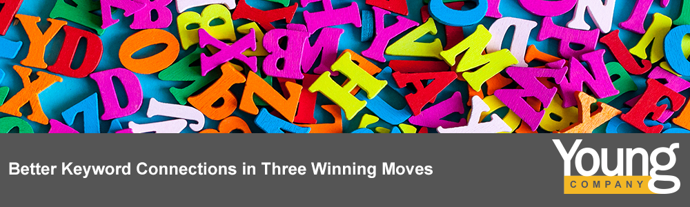 Better Keyword Connections in Three Winning Moves