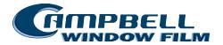 Campbell Window Film Logo
