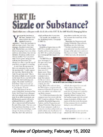 The Review - Sizzle or Substance Page