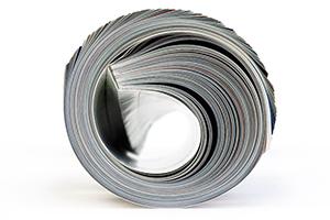 Print Ads - Magazine Rolled