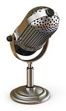 Broadcast Advertising - Microphone Broadcast
