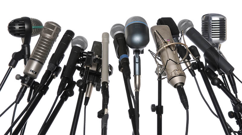 Public Relations Orange County - Microphones