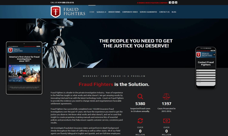 Fraud Fighters Website