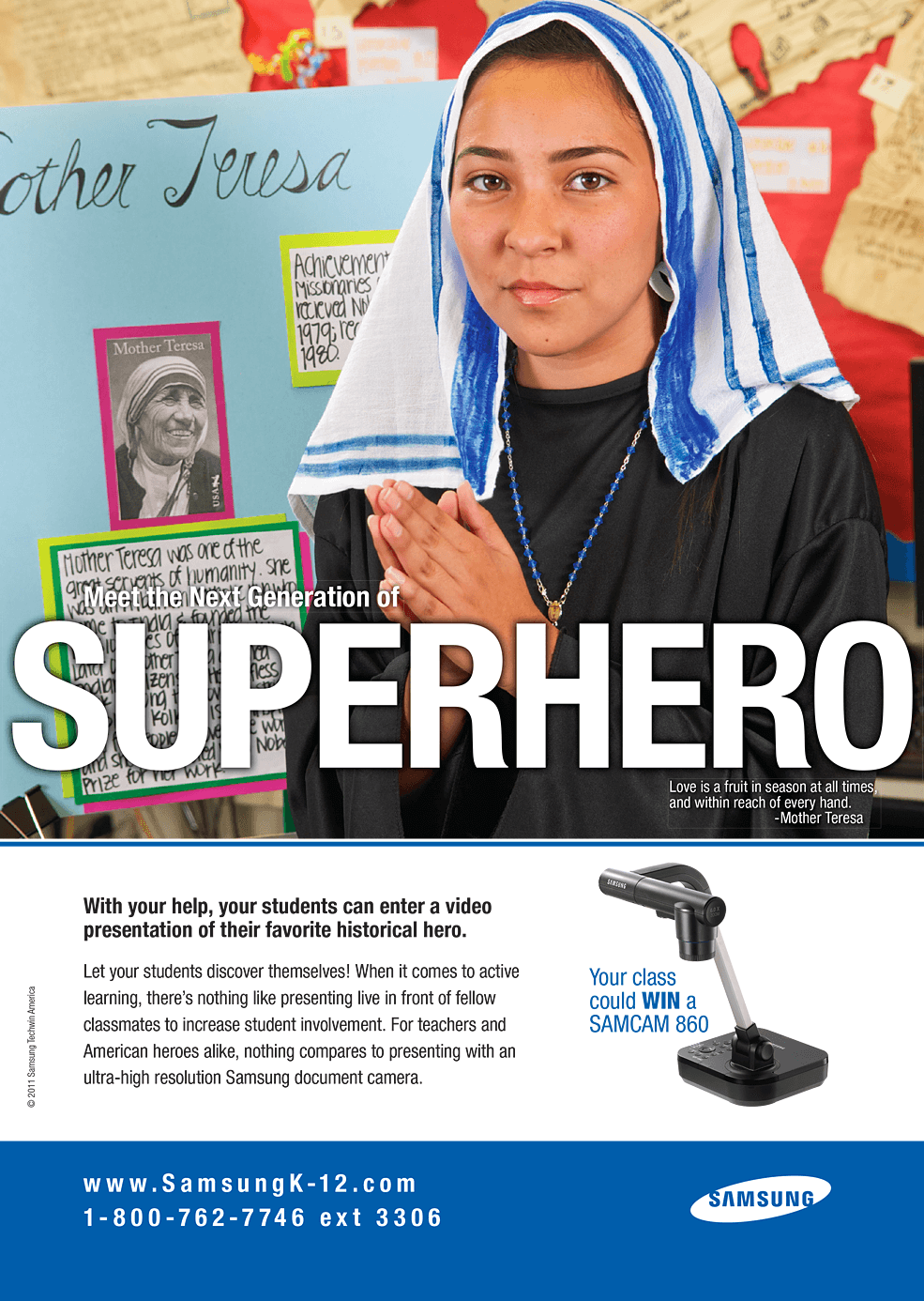 Samsung - Superhero - Mother Teresa - Integrated Marketing