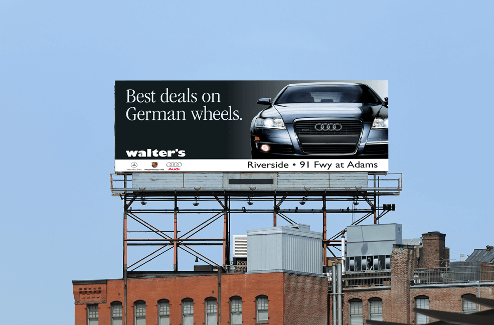 Walter's Integrated Marketing on Billboard Version 02