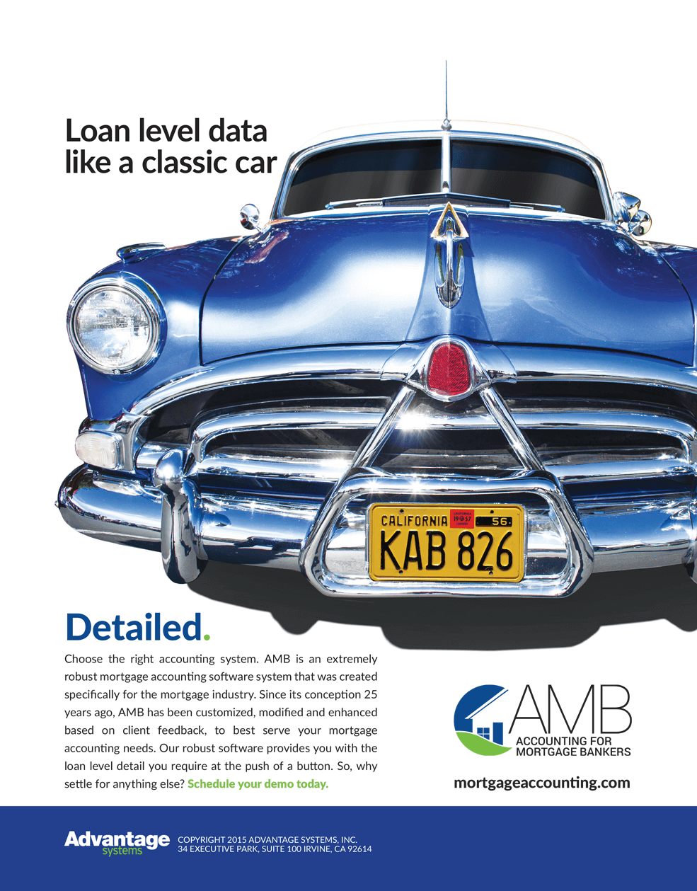 AMB Detailed - Loan Level Data Like a Classic Car Magazine Ad