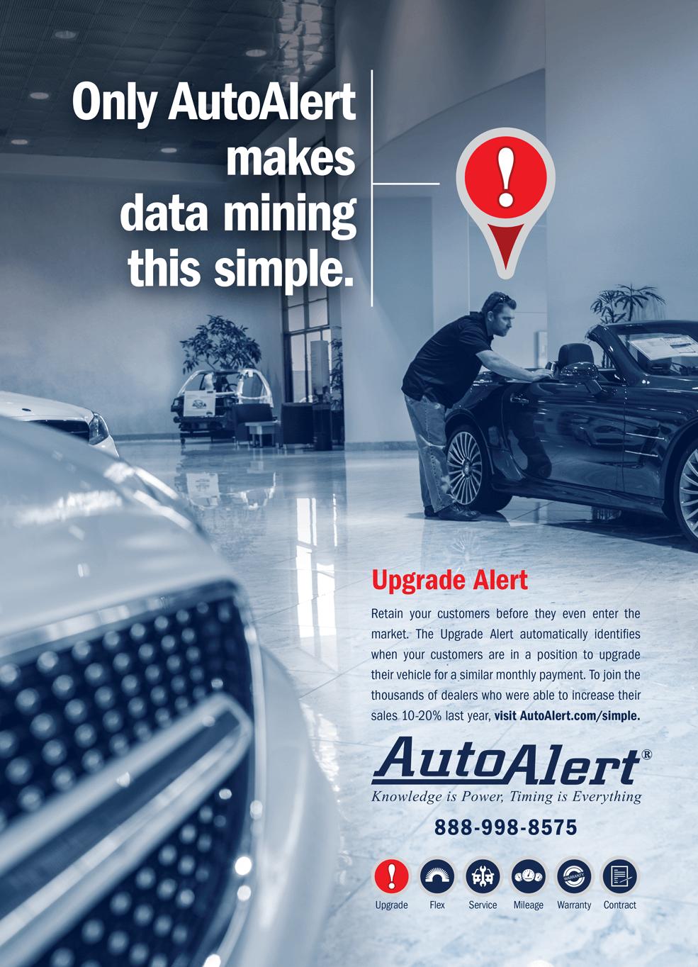 Auto Alert - Data Mining Magazine Ad