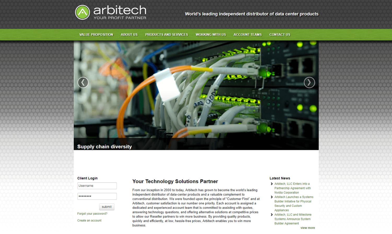 Arbitech Website