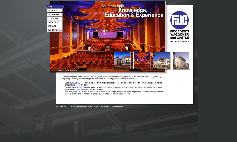 Ficcadenti, Waggoner & Castle Website