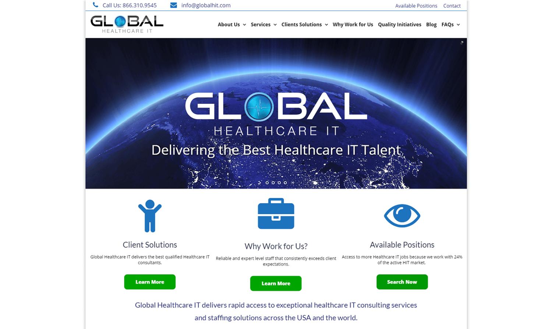 Global Healthcare IT Website