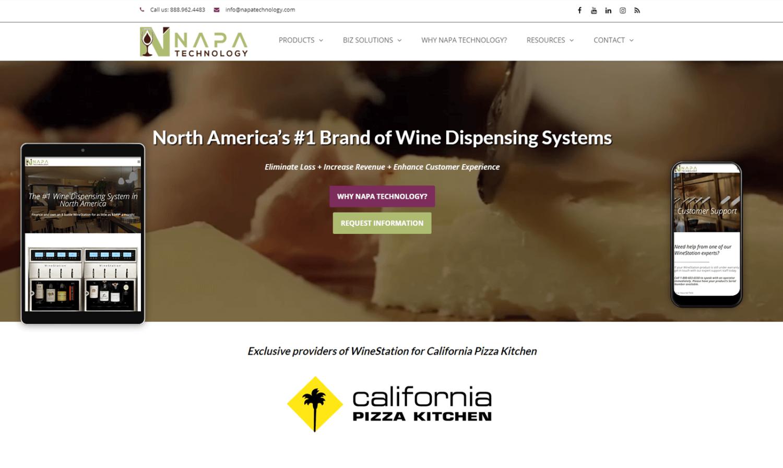 Napa Technology Website