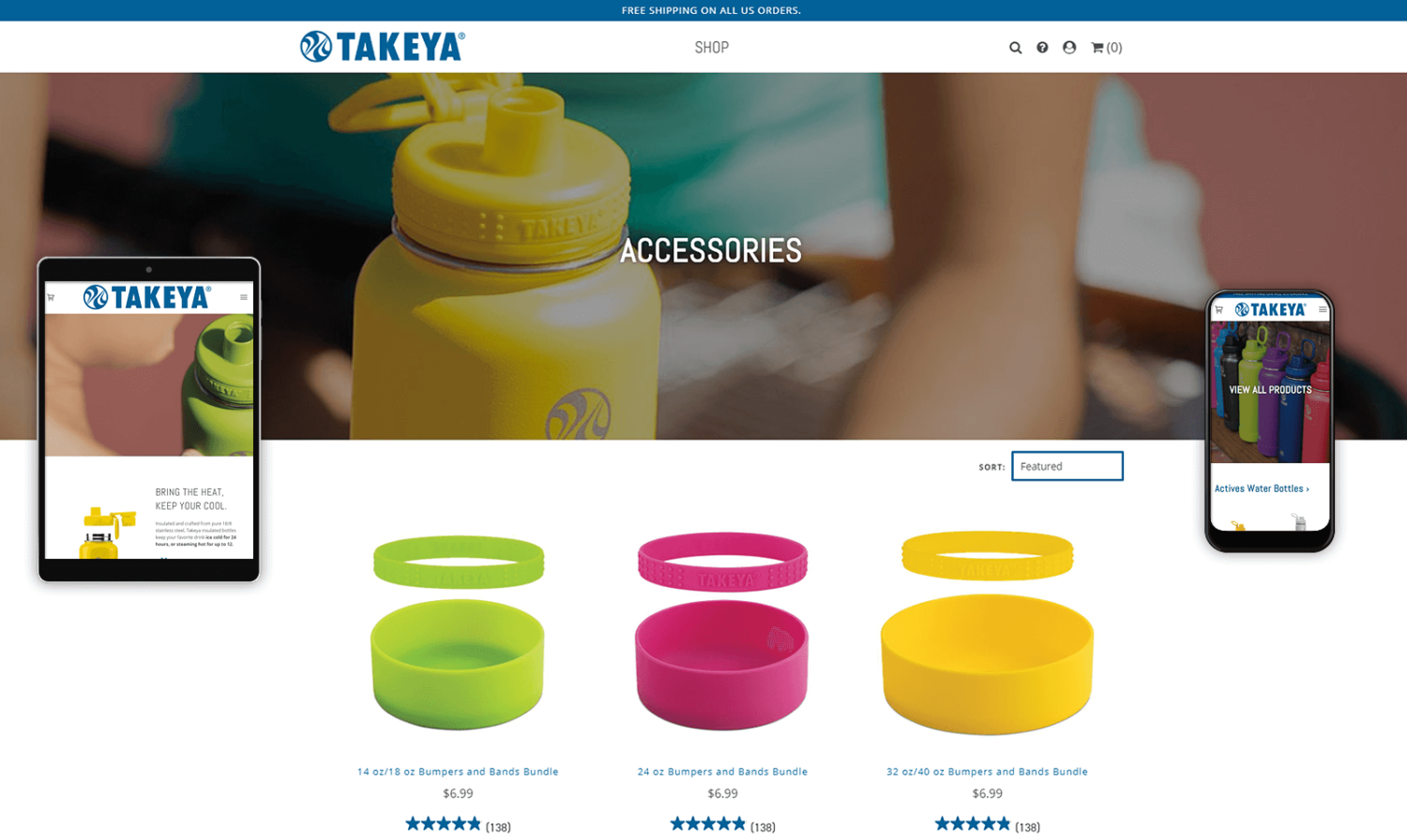 Takeya USA Website