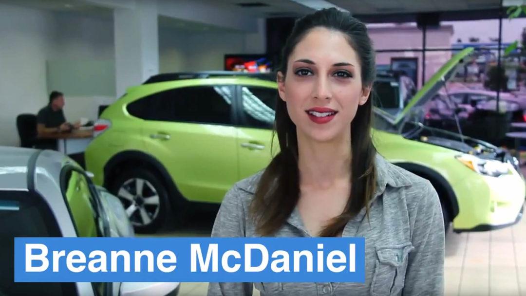 Irvine Subaru - Breanne - Video Poster