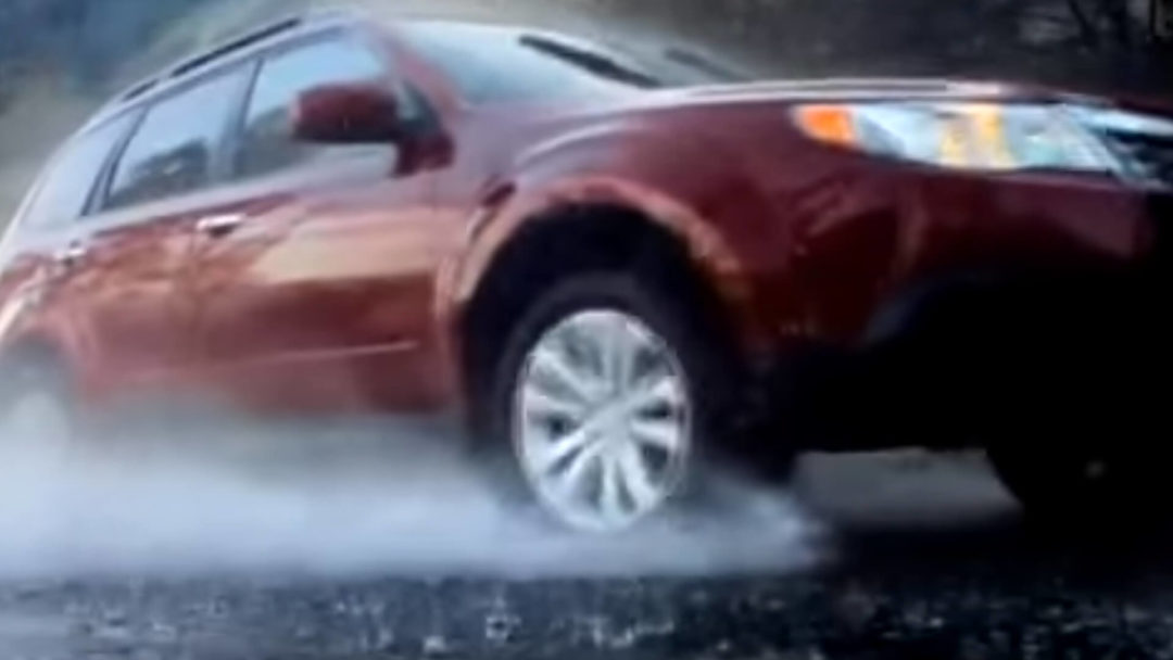 Subaru - Slippery When Wet Forester - Video Poster
