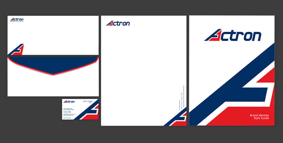 Actron - YC Portfolio - Brand Identity Collection