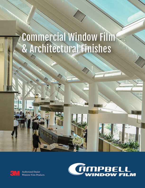 Campbell Window Film Brochure Cover