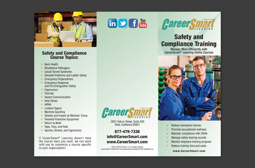 CareerSmart - Integrated Marketing - Brochure
