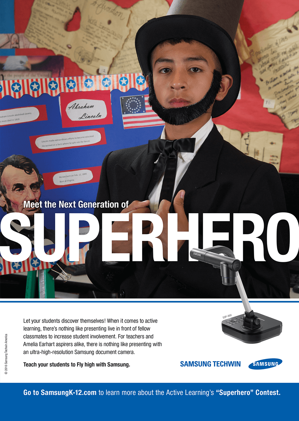 Samsung - Superhero - Honest Abe - Integrated Marketing