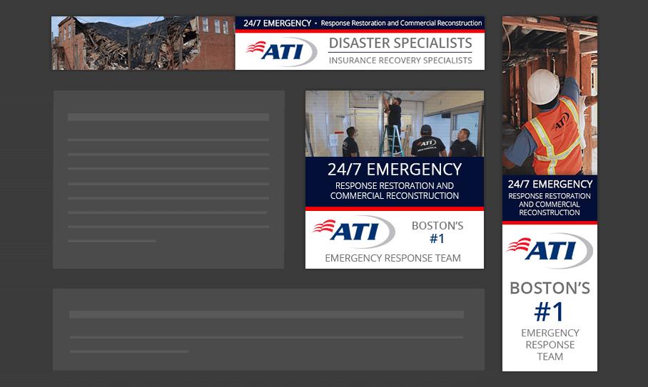 ATI Restoration - Display Ads