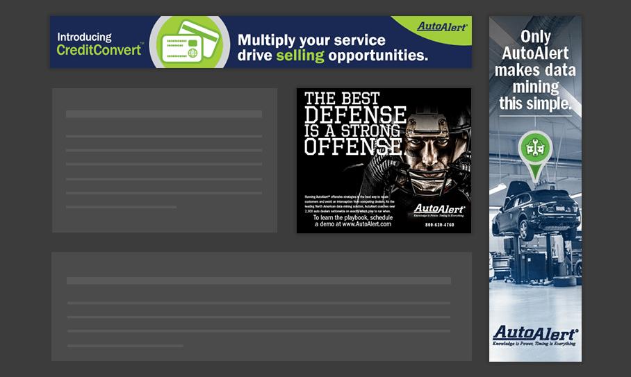 Auto Alert - Display Ads
