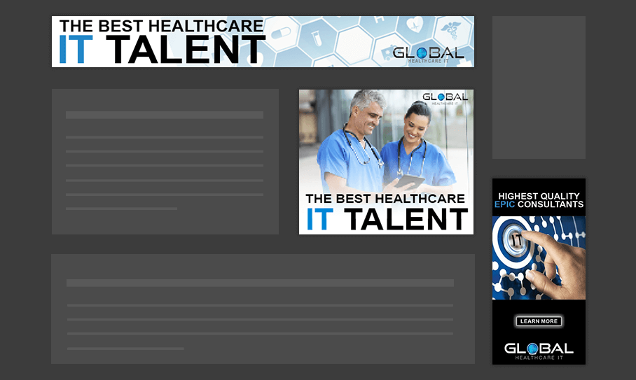 Global Healthcare IT - Display Ads