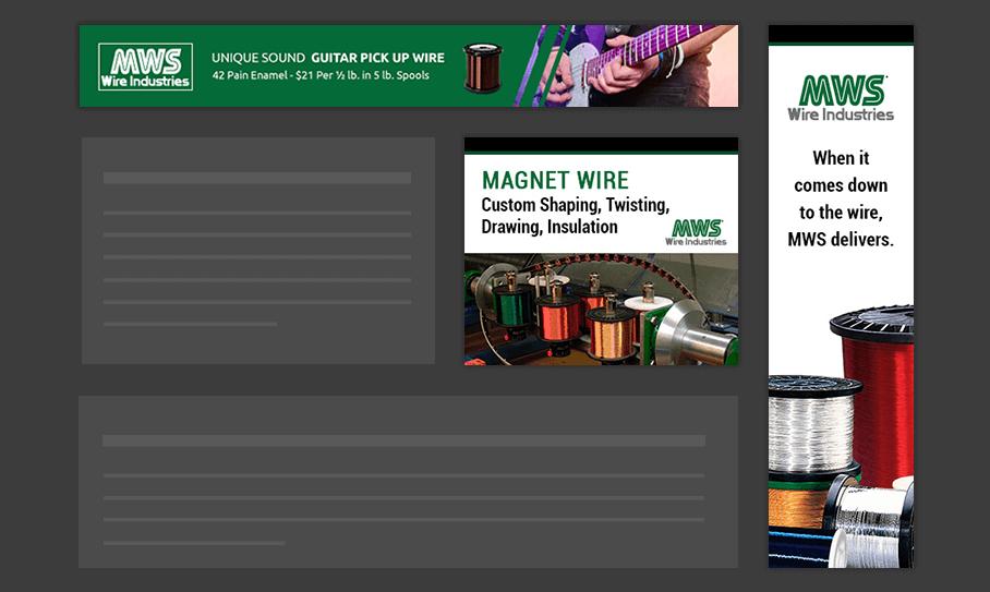 MWS Wire - Display Ads
