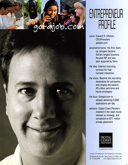 Digital Coast Partners Print Ad - Job