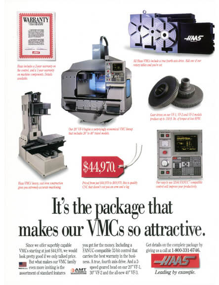 Haas Print Ad - It's the package that makes