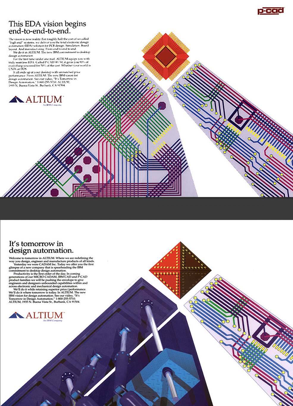 IBM / Altium Print Ads