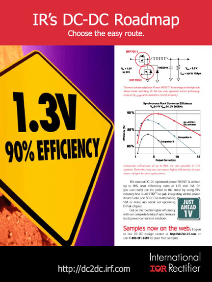 International Rectifier Print Ad - Easy Route