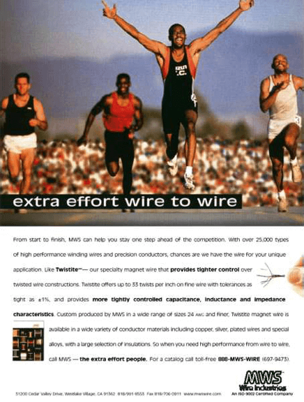 MWS Wire Print Ad - Extra Effort 01