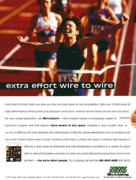 MWS Wire Print Ad - Extra Effort 03