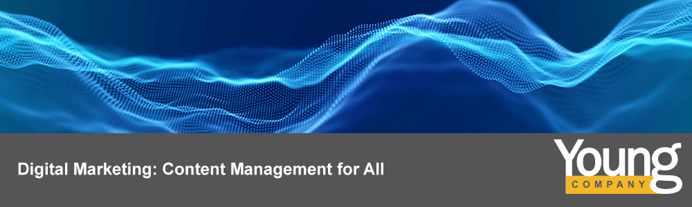 Digital Marketing: Content Management for All