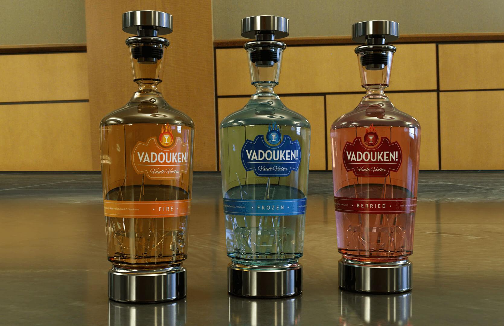 Product Design Orange County | Vault Vodka