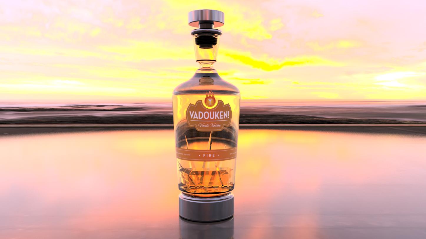 Vault Vodka - Vadouken | Fire Flavor