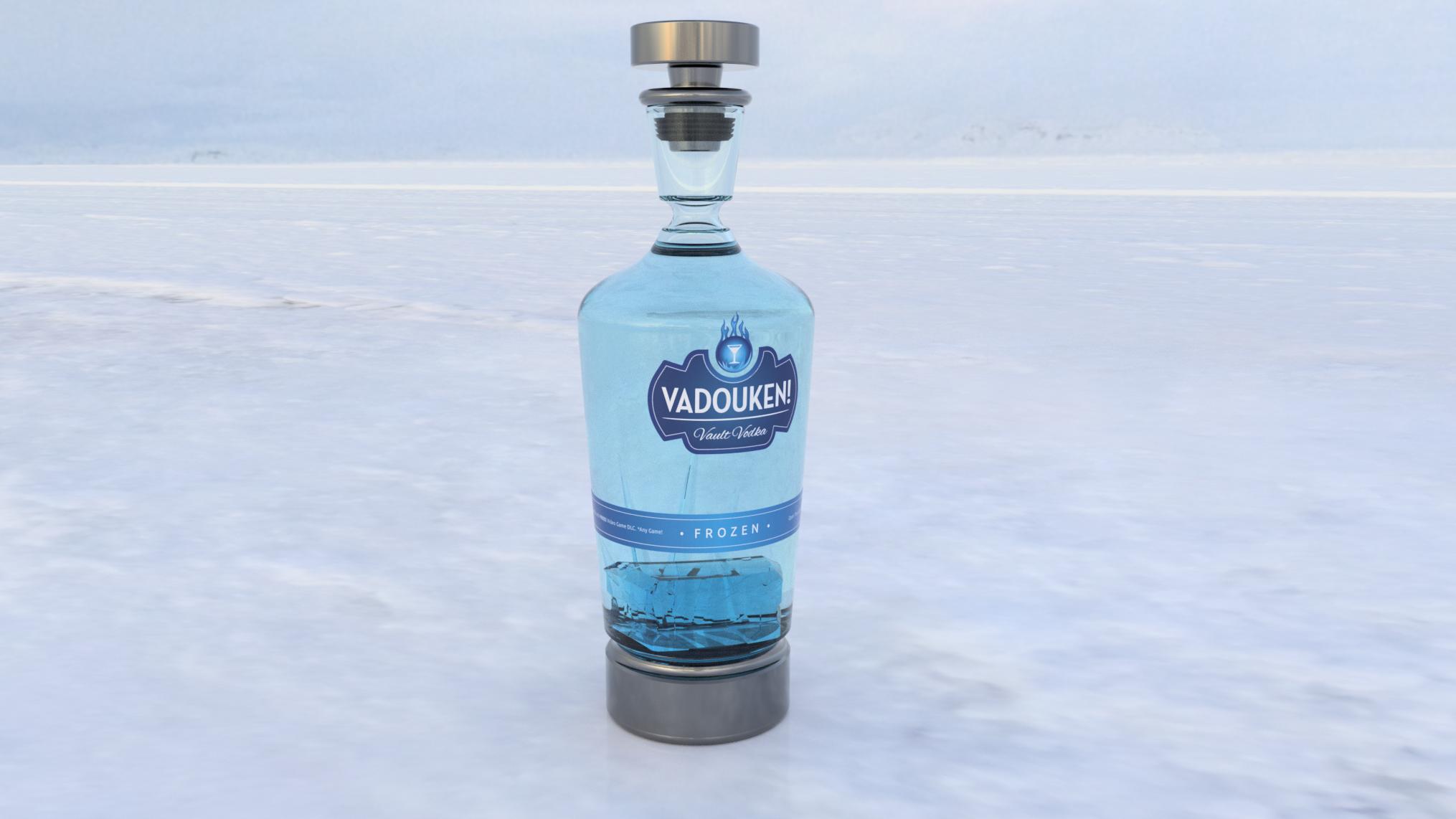 Vault Vodka - Vadouken | Rozen Flavor